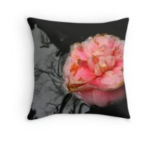 Battered And Bruised, The Floating Flower Is About To Enter The Realm Of The Dark Forest Throw Pillow