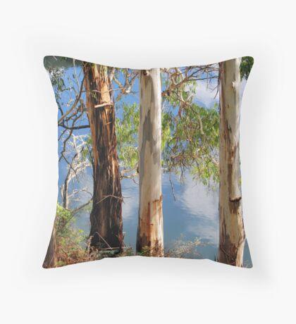 Gum Trees Throw Pillow