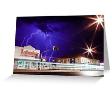 Here comes the storm! Greeting Card