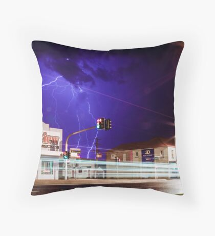 Here comes the storm! Throw Pillow