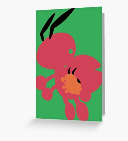 The Lady Bug Greeting Card