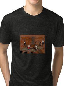 Doctor Who (inside the tardis) Tri-blend T-Shirt