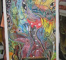 ayahuasca pregnant by AshTree