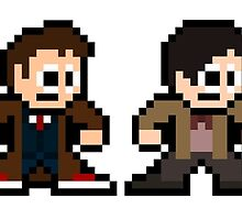 8-bit Dr. Who (9th 10th 11th & 12th Doctors) by 8 Bit Hero