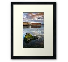 Battery Point, Hobart Framed Print