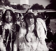 Harajuku Girls by swivalimages