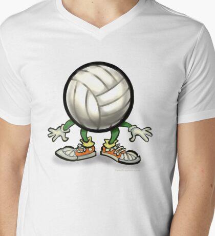 Volleyball Mens V-Neck T-Shirt