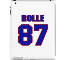 National football player Butch Rolle jersey 87 iPad Case/Skin