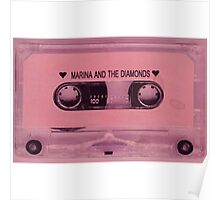 MARINA AND THE DIAMONDS TAPE Poster