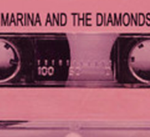 MARINA AND THE DIAMONDS TAPE Sticker
