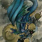 Water Dragon by darkdragonseer