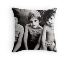 Domestic Violence Awareness Throw Pillow