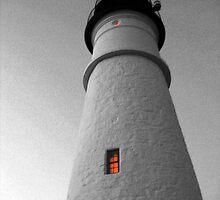 Moody Head Light by lloydsjourney