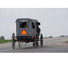 amish buggy Photographic Print