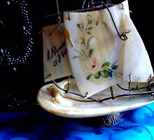 """""""Sail Away in Mother-of-Pearl. .."""" by lurline"""