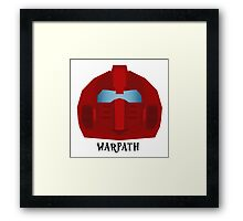 Warpath Framed Print