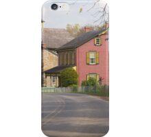 Amish street scene iPhone Case/Skin
