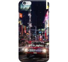 Vintage Time Square iPhone Case/Skin