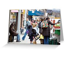 Busy City Greeting Card