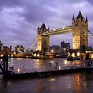 Tower Bridge Dusk by Scott Harding