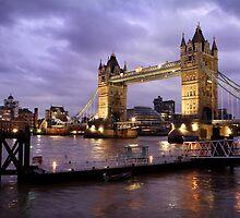 Tower Bridge Dusk by Scott Harding