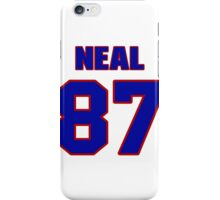 National football player Richard Neal jersey 87 iPhone Case/Skin