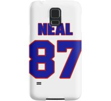 National football player Richard Neal jersey 87 Samsung Galaxy Case/Skin