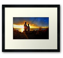 Together... Framed Print