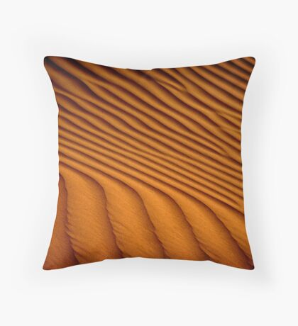 Dune Pattern Throw Pillow