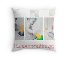 Learning by Playing! Throw Pillow