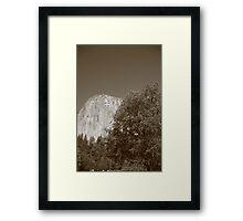 El Cap Framed Print