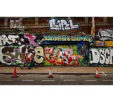 Wall Work Photographic Print