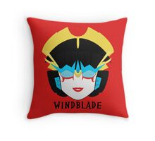 Windblade Throw Pillow
