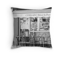 Cafe Throw Pillow