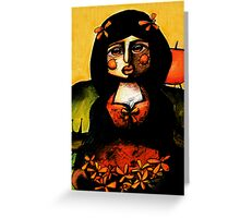 Gypsy Greeting Card