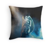 Kneeling Angel Throw Pillow