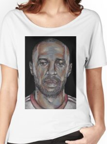 Thierry Henry  Women's Relaxed Fit T-Shirt
