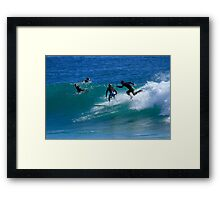 Wave Runner Framed Print