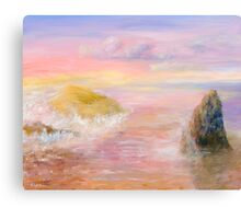 Some Golden Daybreak Canvas Print