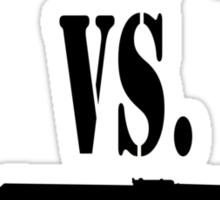 M16 vs. AK47 Sticker