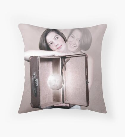My love and me Throw Pillow