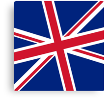Diagonal state of the Union - Jack that is :) Canvas Print