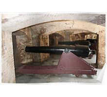 Ft. Sumter Cannons Poster