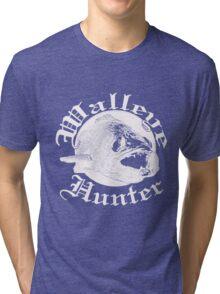 Walleye hunter w Tri-blend T-Shirt