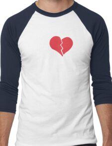 You Break It You Buy It Valentine's Day Heart Men's Baseball ¾ T-Shirt