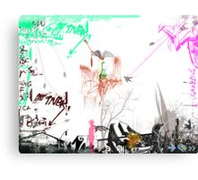 My Graffiti 3 2008© Canvas Print
