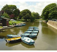 Lovely day for boating Photographic Print
