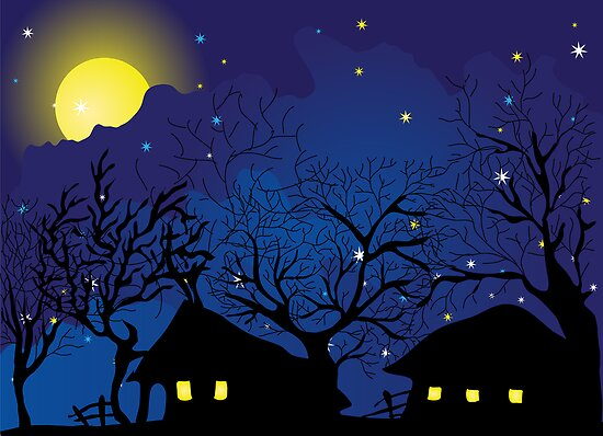 night village by VioDeSign