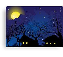 night village Canvas Print