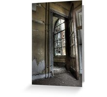 Framed Panes Greeting Card